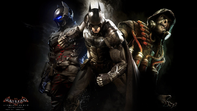 Batman has to contend with the military experience of The Arkham knight, and the scientific knowledge of The Scarecrow. It's gonna be a long night...