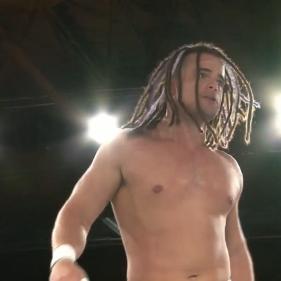 Juice Robinson, in a rare non-NJPW appearance