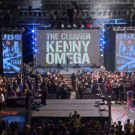 Kenny Omega makes his first live appearance for Ring of Honor in far too long