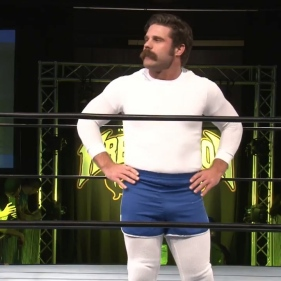 Joey Ryan, channeling Andy Kauffman as best he can
