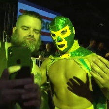 The man, the myth, the legend: Chico el Luchador