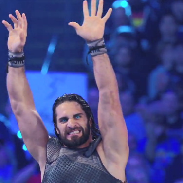 Seth Rollins in a Game of Thrones inspired outfit