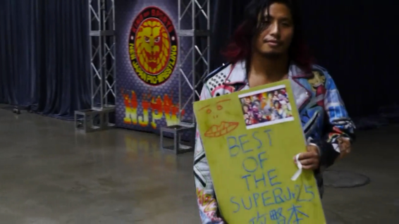 Stupid sexy Hiromu Takahashi, easily one of the MVPs of this tournament