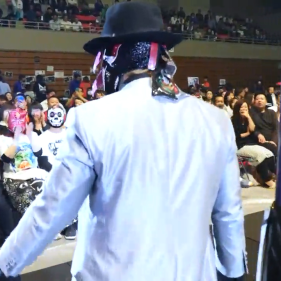 My main man BUSHI apparently has some more fans in the front row