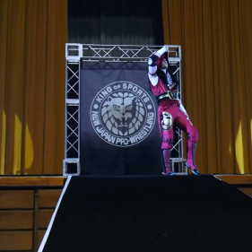 Your reigning, defending, undisputed IWGP Junior Heavyweight Champion of the World: The Aerial Assassin, Will Ospreay!