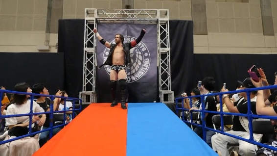 Chris Sabin, a wild card from the beginning of the tournament