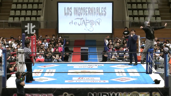 BUSHI, aka the most underrated of Los Ingobernables de Japon