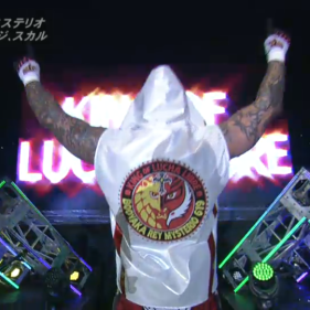 THe official debut of Ray Mysterio Jr., the King of Lucha Libre