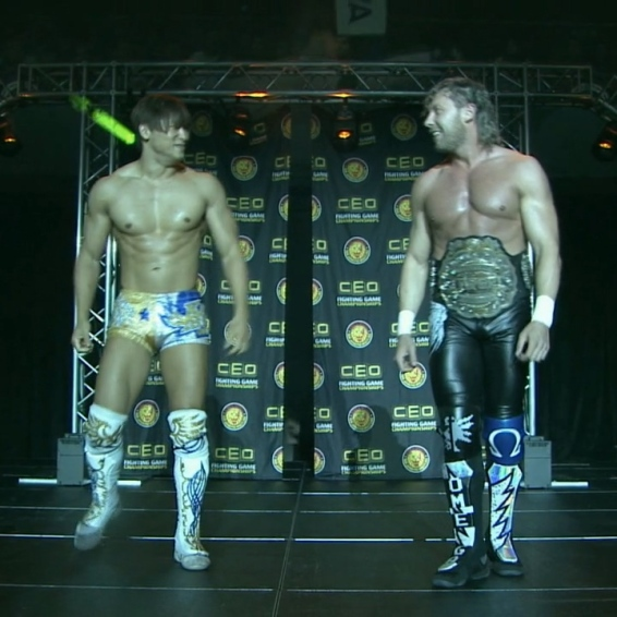 Kota Ibushi and Kenny Omega
