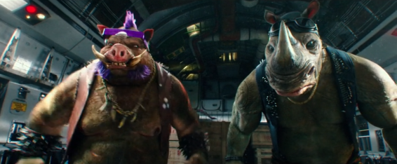 Bebop and Rocksteady were easily the highlight of the movie.