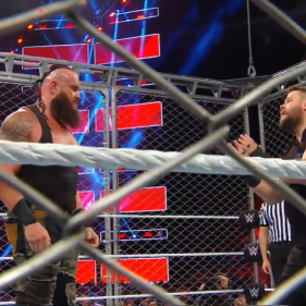Braun Strowman shows no mercy to a begging-off Kevin Owens