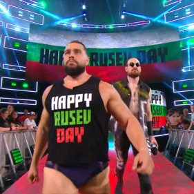 What day is it? Rusev marches towards his first ever singles championship match