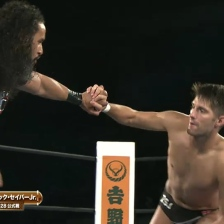 Tama Tonga attempts (and fails) to out wrestling ZSJ