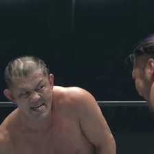 Minoru Suzuki is pissed off at EVIL