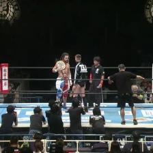 Juice Robinson shows off his title against Zack Sabre Jr.