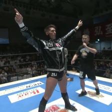 He is pro wrestling master. He is Z S J. He is, Zack Sabre Jr!