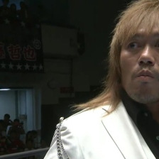 Tetsuya Naito remains tranquilo, despite knowing he is about to face Tomohiro Ishii