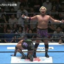Togi Makabe goes Super Saiyan against EVIL