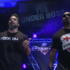 Tonga Loa and Bad Luck Fale are ready to cause a ruckus