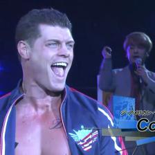 Cody, making his return to NJPW
