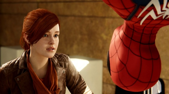 Mary Jane Watson as she appears in this game - different, but not a deal breaker