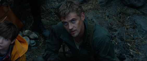 McKenna (Boyd Holbrook) barely stands out in his own movie