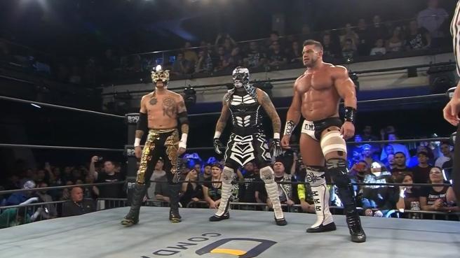Team Lucha: Fenix, Oentagon Jr & Brian Cage