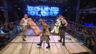 The OGz hold the ring in the Concrete Jungle Death Match