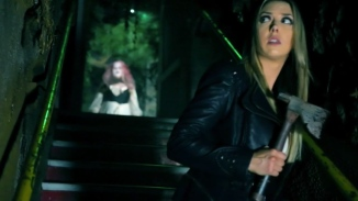 Su Yung stalks Allie in the Undead Realm