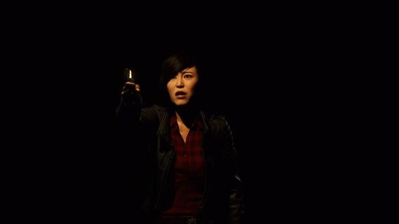 This is a darker story for Yuri Watanabe (Tara Platt)