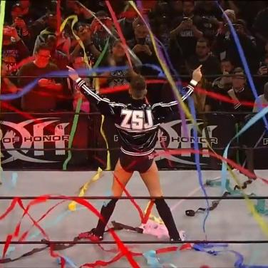 Zack Sabre Jr. makes his ROH debut