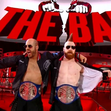 Cesaro and Sheamus don't just set the bar, they are The Bar
