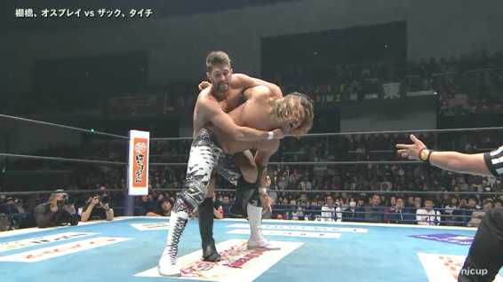 Zack Sabre Jr turns every submission hold into an optical illusion, as you try to figure out how he manages to reach his opponent's limbs