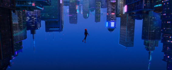 The iconic New York City shot from the early trailers
