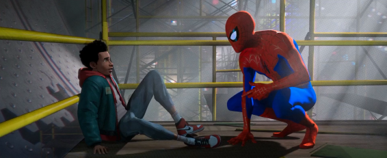 MIles Morales and Spider-man comes face to face