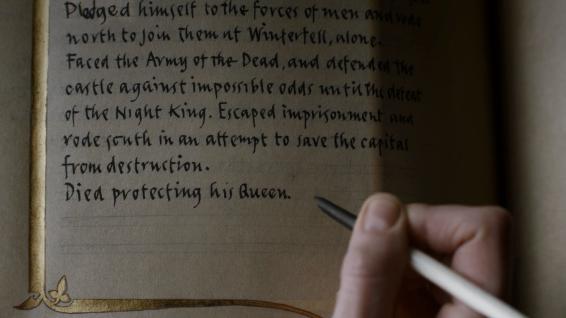 Jamie Lannister: heroic redemption, or jerk until the end?