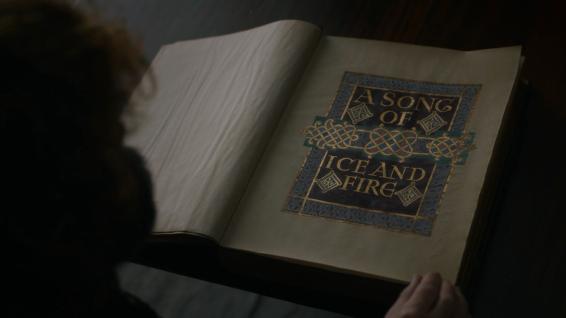 """I wrote it with Grandmaester Martin."""