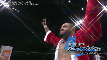 The Octopus, Jonathan Gresham makes his NJPW debut