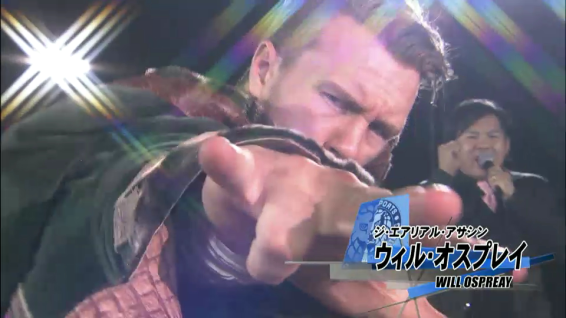 Will Ospreay, the Aerial Assassin