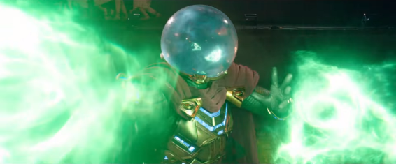 Who's that jumping out the sky? R-E-Y Mysterio, here we go