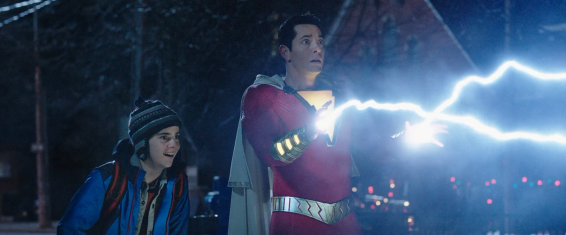 Freddy and Billy (as Shazam) try to discover what powers Billy has