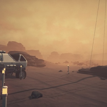 The Red Planet, not ready to be explored outside of predetermined cutscenes