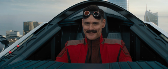 Jim Carrey as Dr Robotnik, easily one my favourite of his roles.