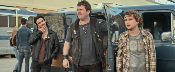 From left: Mark (Keean Johnson), Ivan (Austin Swift), and Kovacs (Logan Miller)