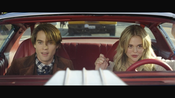 Cole (Judah Lewis) and Melanie (Emily Alyn Lind), ready to start a new adventure