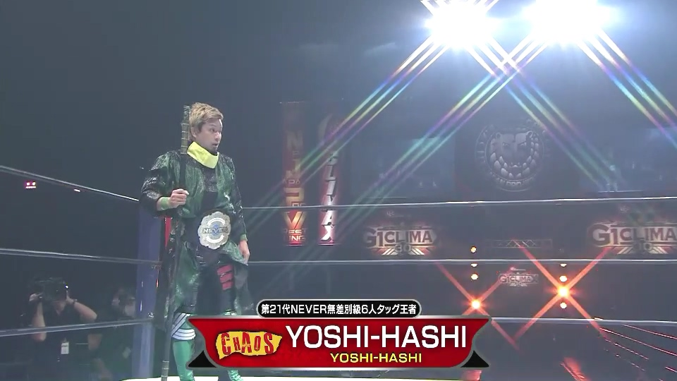 YOSHI-HASHI looks to finally break free of his career shackles when he faces the current double Champion