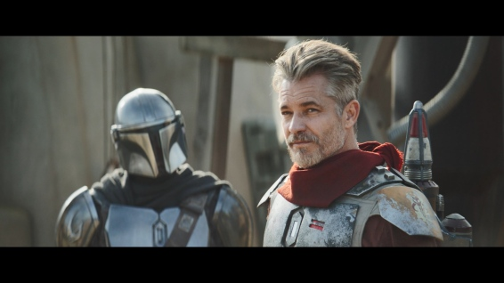 The first of many guest stars this season, Timothy Olyphant as Cobb Vanth