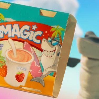 Yo-Magic, the snack for survivors.