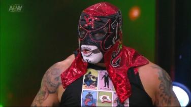 Penta El Zero Miedo: who knew that stupid sexy zombie ninja from Lucha Underground would get so far?