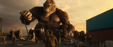 Captured and chained, this movie was far more Kong than it was Godzilla.